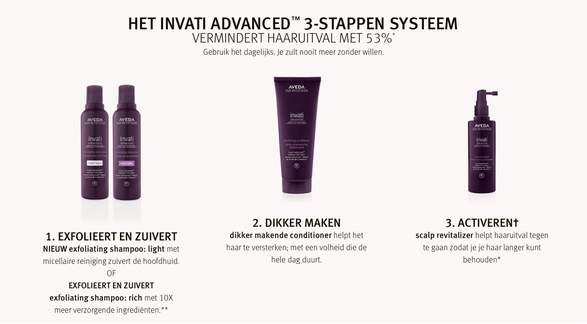 invati advanced 3 stappen systeem